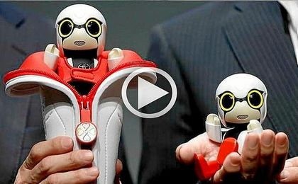Crean un robot parlante para hacer compañía a los humanos