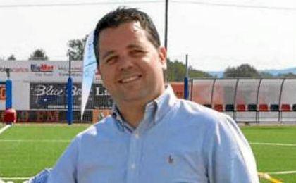 Xicu Ferrer, presidente de la Sociedad Deportiva Formentera.