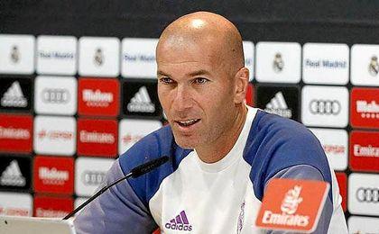 """Zidane asegura que es el """"responsable"""" de buscar una soluci�n al actual momento del equipo blanco."""
