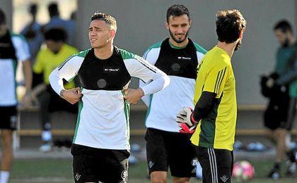 Sanabria ha acelerado para estar ante el Madrid.