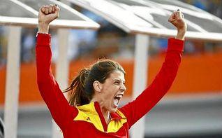 La espa�ola Ruth Beitia, elegida �Atleta Europea del A�o�