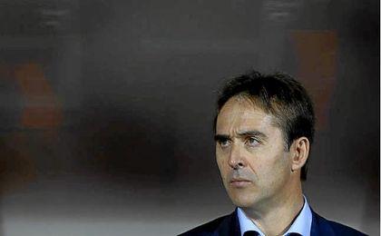 El técnico español eludió comparaciones con su antecesor en el cargo.
