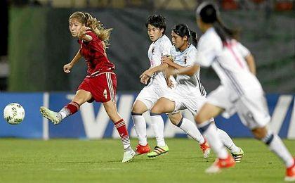 España cae ante Japón en semifinales del Mundial Sub-17 de Jordania.