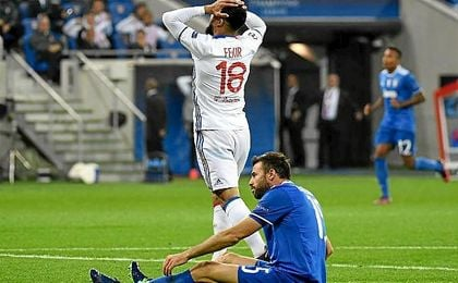 La Juventus se llevó los puntos de Francia.