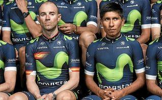 Movistar sube por cuarto a�o consecutivo al primer escal�n del World Tour