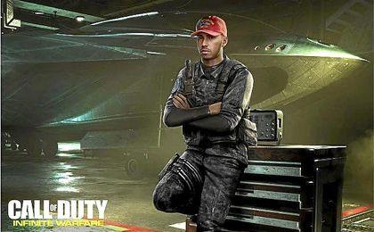 Lewis Hamilton será una de las estrellas de la próxima edición, ´Call of Duty: Infinite Warfare´.