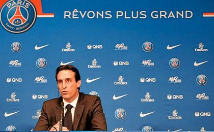 """En el Sevilla, según explicó Emery, convenció a todos sus jugadores para que confiaran en él, """"y por eso ganamos tres veces la Europa League""""."""