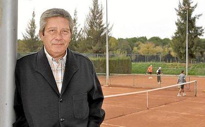 Juan Miguel Navas Burgos, presidente de la Federación Andaluza de Tenis.