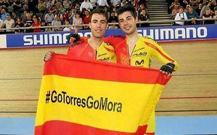 Torres y Mora, campeones de Europa en madison; Calvo, bronce en sprint