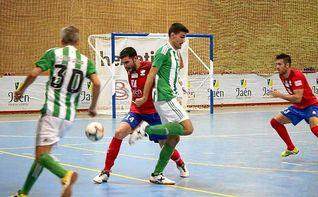 Vibrante empate del Real Betis Futsal en Mengíbar
