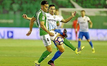 Bruno aprovechó una lesión de Mandi para jugar ante Sevilla, Málaga y Real Sociedad.