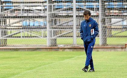 Milla fichó por el Zaragoza en junio tras haber dirigido al Lugo la pasada temporada.