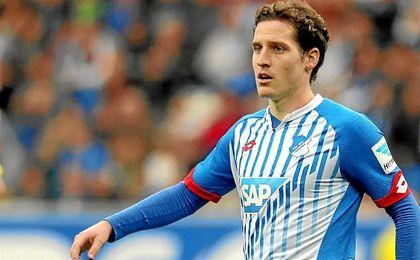 Sebastian Rudy acaba contrato con el Hoffenheim.