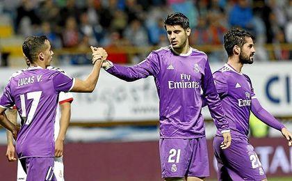 Morata se reinivindicó en el Real Madrid.