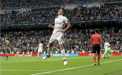 Lucas Vázquez ha anotado un gol durante el inicio de esta temporada.