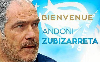 Zubizarreta trabajará con el también nuevo entrenador Rudy García.