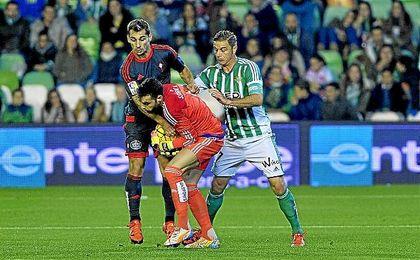 Lance del Betis-Celta de la pasada temporada.