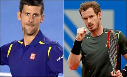 Djokovic y Murray lucharán por el número uno mundial en los dos torneos que quedan para cerrar el curso.