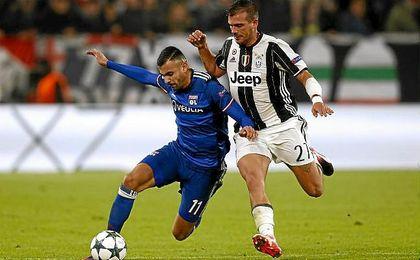 Con este empate, la Juventus se quedó en la segunda posición del grupo H.