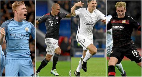 El City, el Bayern, el PSG y el Leverkusen son, ahora mismo, segundos de grupo.