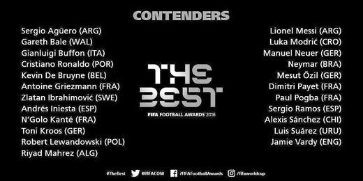 Cristiano y Messi encabezan la lista a mejor jugador FIFA