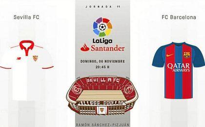 Así vivimos el Sevilla-Barcelona