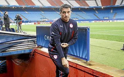 Míchel, en el Calderón.