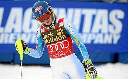 Copa del Mundo de esquí alpino.