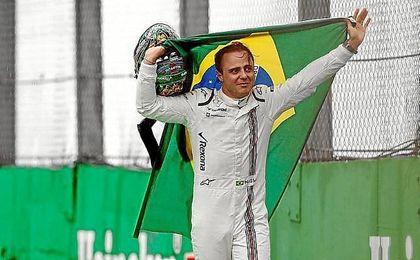 Massa se despide entre lágrimas del público de Brasil.