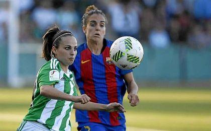 El Real Betis Féminas demostró un gran nivel e igualó a uno frente el líder, el Barcelona.