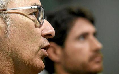 Miguel Torrecilla, durante la rueda de prensa.