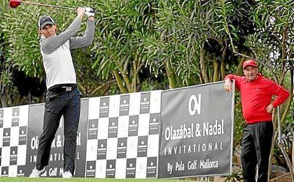 Rafa Nadal y José María Olazabal, en el evento que lleva sus respectivos nombres.