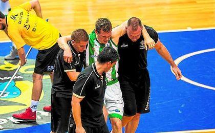"""El base serbio Nikola Radicevic espera volver """"al nivel de antes"""" en el menor tiempo posible."""