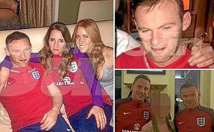 Las fotos filtradas por ´The Sun´ sobre la fiesta de Rooney.