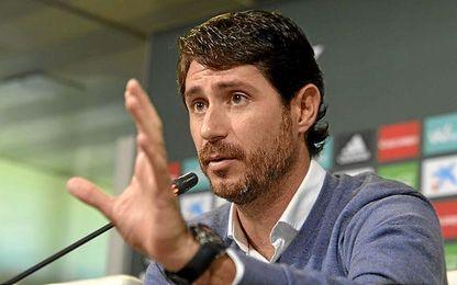 Imagen de la rueda de prensa de Víctor Sánchez del Amo.