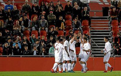 El Sevilla Atlético desperdició un 0-2.
