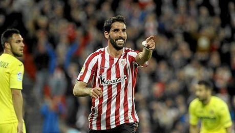 Raúl García marcó el tanto del Athletic.