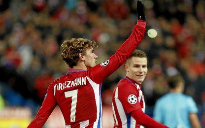 Griezmann fue protagonista en el Atlético.