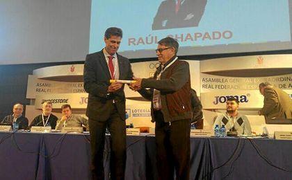 Chapado sustituye a José María Odriozola al frente de la RFEA.