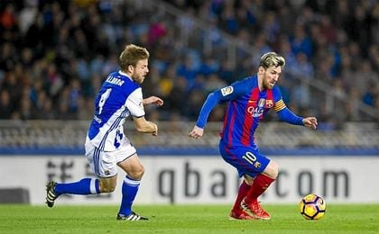 Empate del Barcelona en Anoeta.