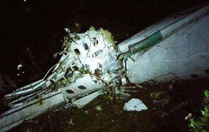 El avión del Chapecoense se estrella en Colombia