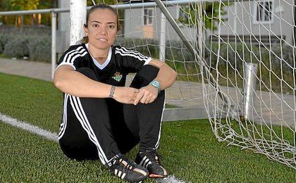 María Pry, satisfecha con el rendimiento de su equipo.
