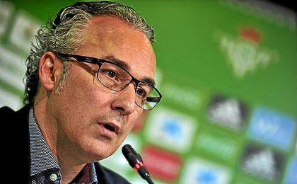 Miguel Torrecilla, durante una rueda de prensa.