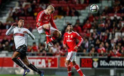 El central sueco Victor Lindelöf es uno de los más destacados del Benfica.