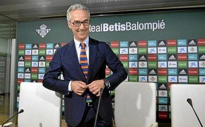 Miguel Torrecilla, hoy en la sala de prensa.