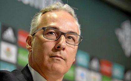 Miguel Torrecilla, en una rueda de prensa.