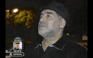 Maradona llega a Cuba para despedir a su ´segundo papá´, Fidel Castro