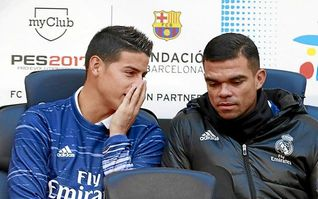 Zidane: ´James no va a salir de aquí. Bueno...´