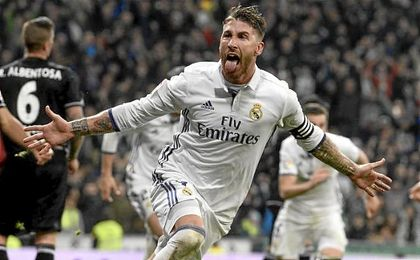 La 'suerte' de Sergio Ramos