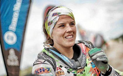 La piloto española disputará su segundo Dakar.